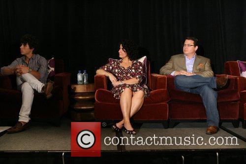 Nick Jonas, Denise Jonas and Kevin Jonas Nick...
