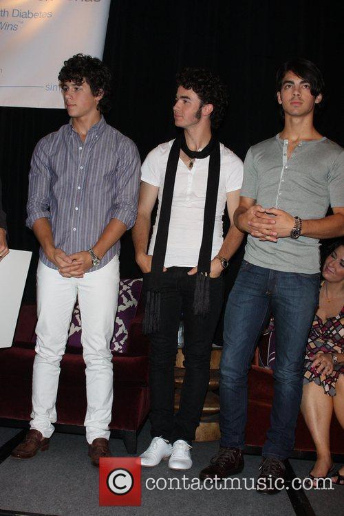 Nick Jonas, Kevin Jonas and Joe Jonas Nick...