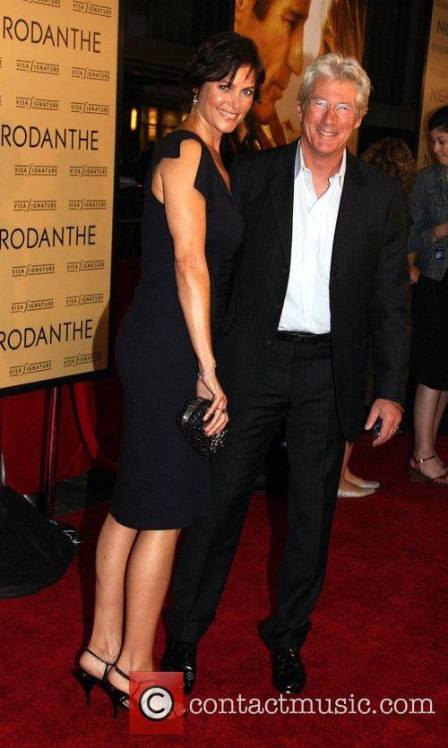 Carey Lowell and Richard Gere New York Premiere...