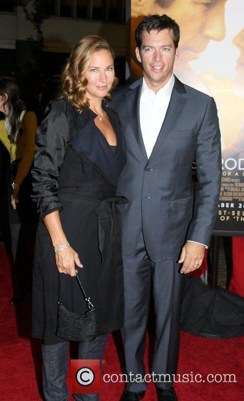 Jill Goodacre and Harry Connick Jr. New York...