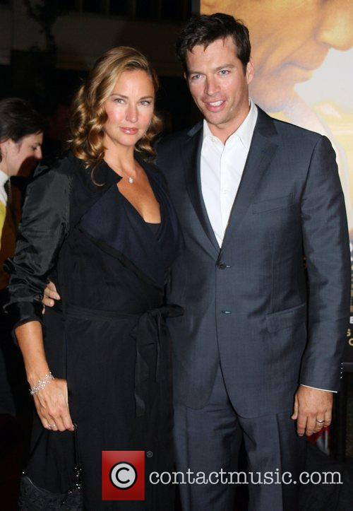 Jill Goodacre and Harry Connick Jr. 1