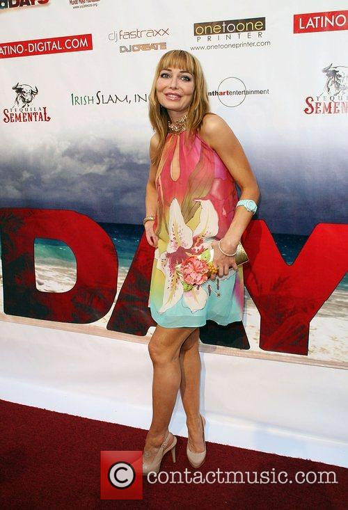 Lorielle New 'No Bad Days' premiere at the...