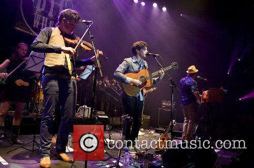 Noah and the Whale Album launch at the...