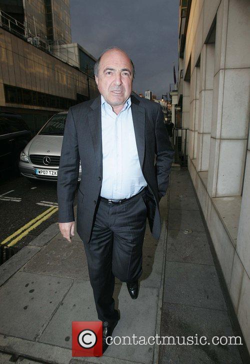 Boris Berezovsky outside Nobu restaurant in Mayfair London,...