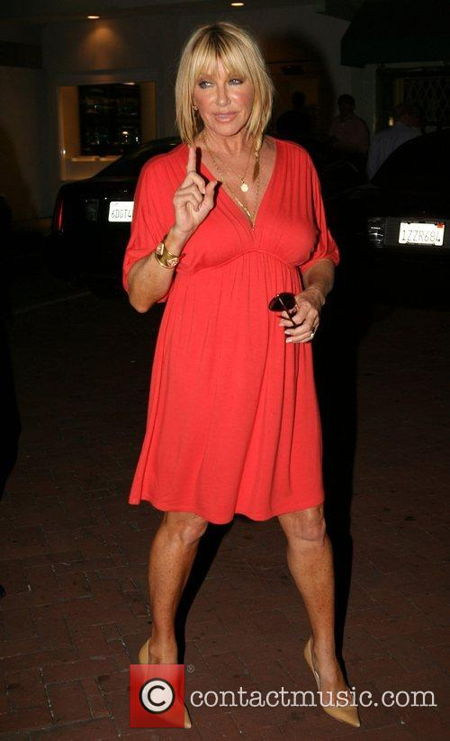 Suzanne Somers at Nobu in Cross Creek Mailbu,...