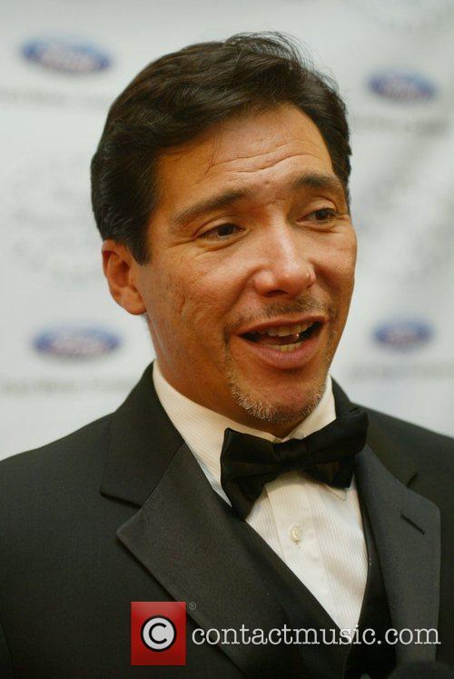 Benito Martinez attends the black tie reception of...