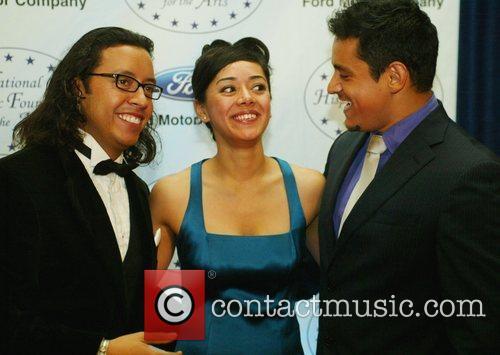 Efren Ramirez, Aimee Garcia and Jesse Garcia 3