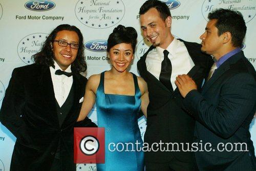 Efren Ramirez, Aimee Garcia and Jesse Garcia 1