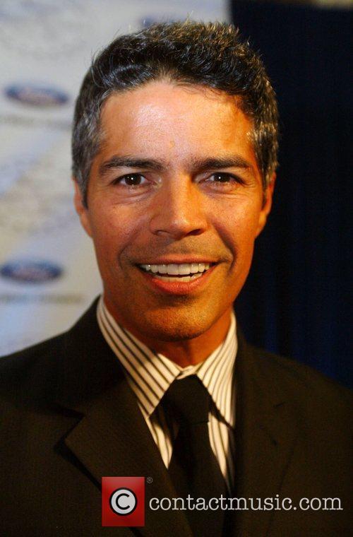 Esai Morales  attends the black tie reception...