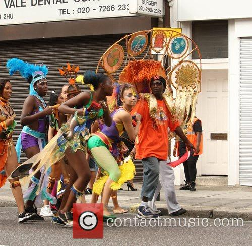The Notting Hill carnival - children's day London,...