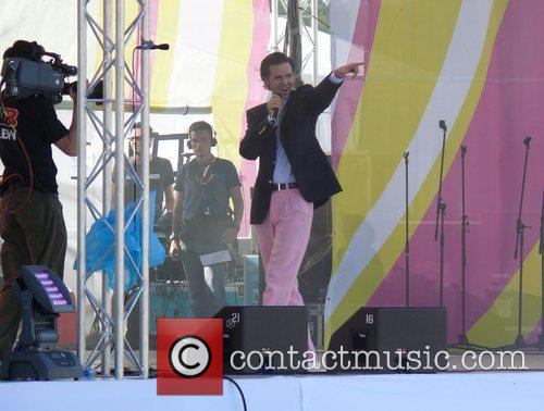 Alexander Marcus performing live Energy in the Park...
