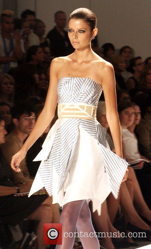 Model  Mercedes-Benz Fashion Week Spring 2009 -...