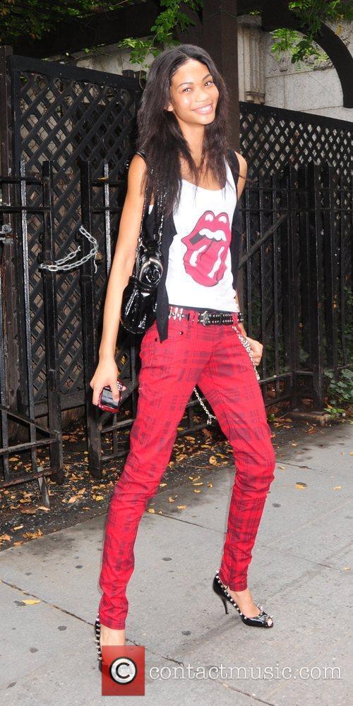 Channel Iman Mercedes-Benz Fashion Week Spring 2009 -...
