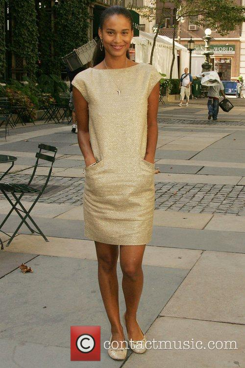 Joy Bryant Mercedes-Benz Fashion Week Spring 2009 -...