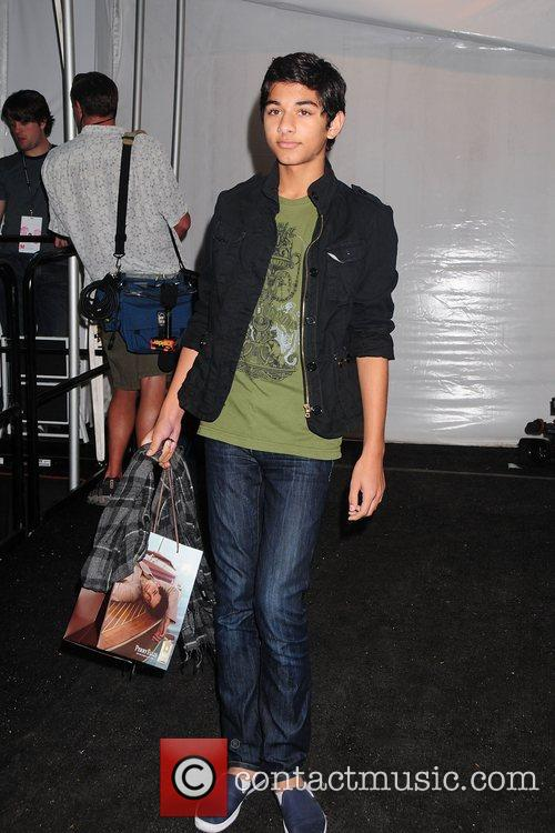 Mark Indelica Mercedes-Benz Fashion Week Spring 2009 -...