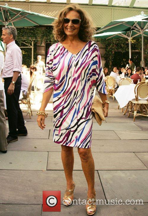 Diane von Furstenberg Mercedes-Benz Fashion Week Spring 2009...