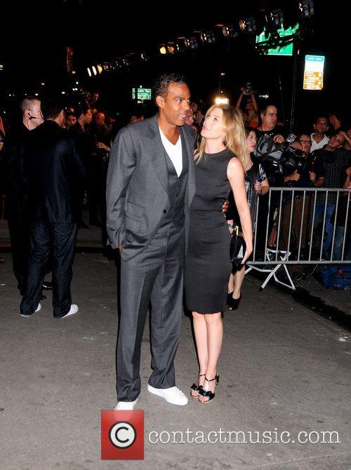 Chris Ivery and Ellen Pompeo Mercedes-Benz Fashion Week...
