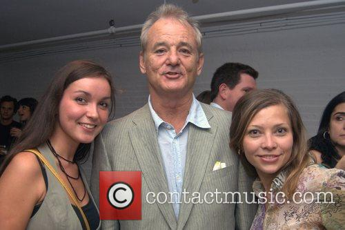 Bill Murray and guests Mercedes-Benz Fashion Week Spring...