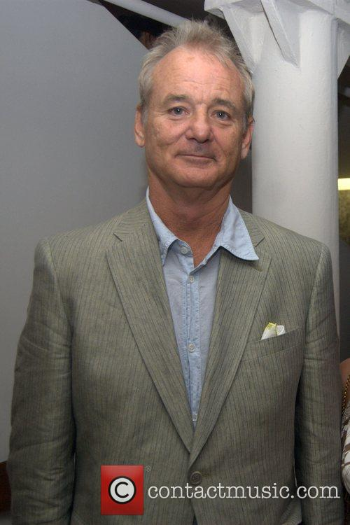 Bill Murray Mercedes-Benz Fashion Week Spring 2009 -...