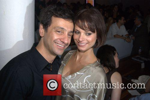 Carlos Miele and his wife Renhea Miele Mercedes-Benz...