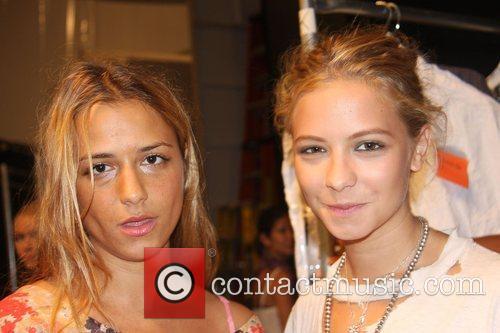 Charlotte Ronson and Annabelle Dexter Jones Mercedes-Benz Fashion...