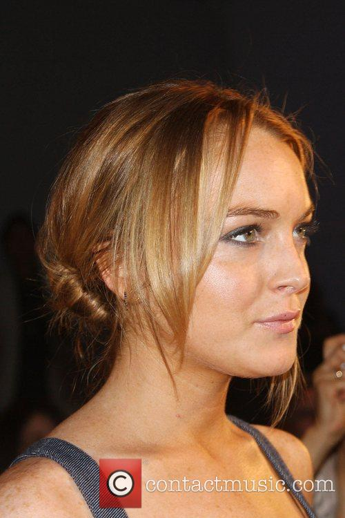 Lindsay Lohan Mercedes-Benz Fashion Week Spring 2009 -...