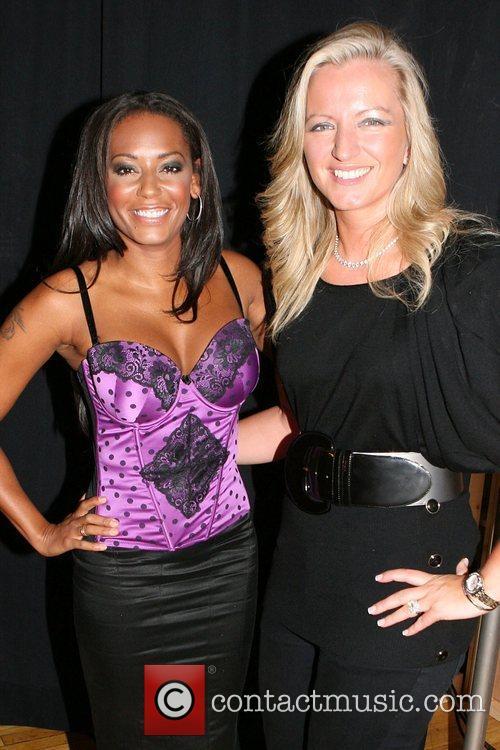 Melanie Brown and Michelle Mone Mercedes-Benz Fashion Week...