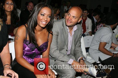 Melanie Brown and Stephen Belafonte Mercedes-Benz Fashion Week...