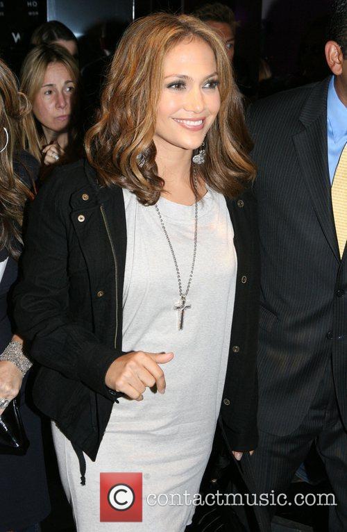 Jennifer Lopez Mercedes-Benz Fashion Week Spring 2009 -...