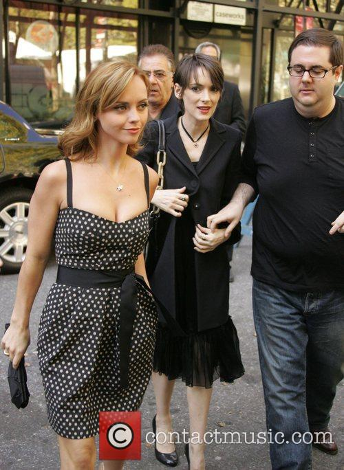 Winona Ryder and Christina Ricci Mercedes-Benz Fashion Week...