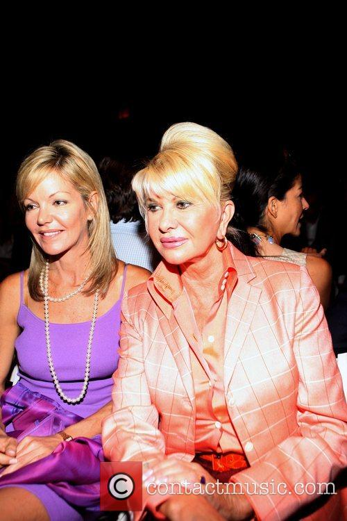 Guest and Ivana Trump Mercedes-Benz Fashion Week Spring...