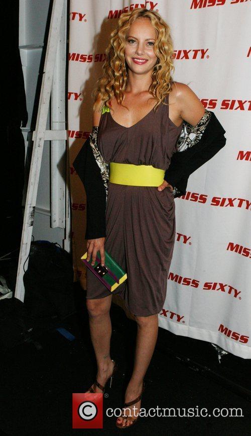 Bijou Phillips Mercedes-Benz Fashion Week Spring 2009 -...
