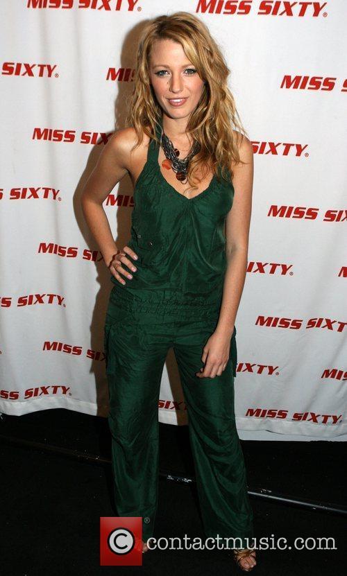 Blake Lively Mercedes-Benz Fashion Week Spring 2009 -...