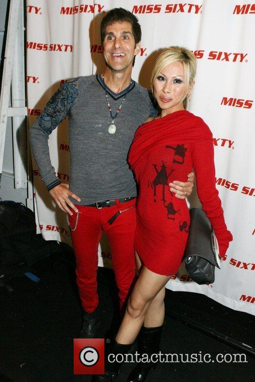 Perry Farrelll and Etty Lau Farrell Mercedes-Benz Fashion...