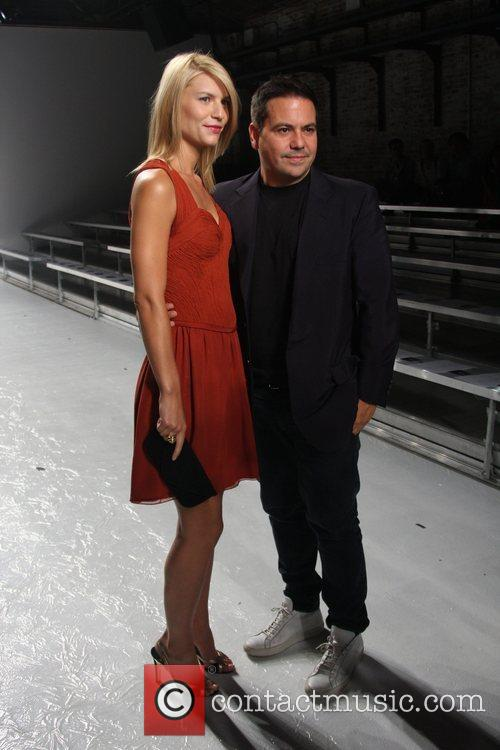 Claire Danes and Narciso Rodriguez Mercedes-Benz Fashion Week...