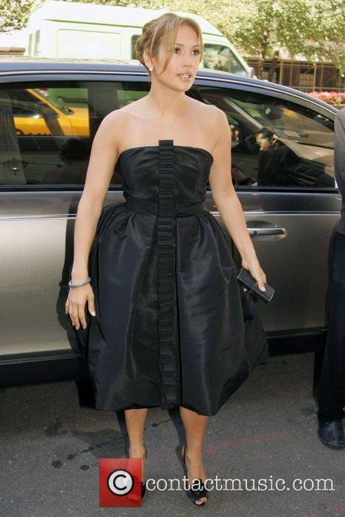 Jennifer Lopez Mercedes-Benz Fashion Week Spring 2009 -...