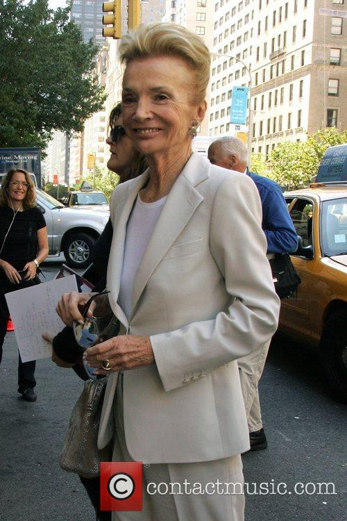 Lee Radziwill Mercedes-Benz Fashion Week Spring 2009 -...