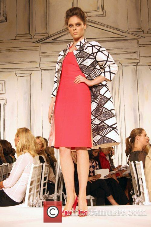 Coco Rocha Mercedes-Benz Fashion Week Spring 2009 -...