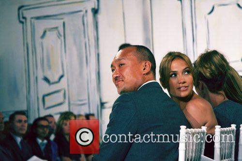 Elle magazine creative director Joe Zee and Jennifer...