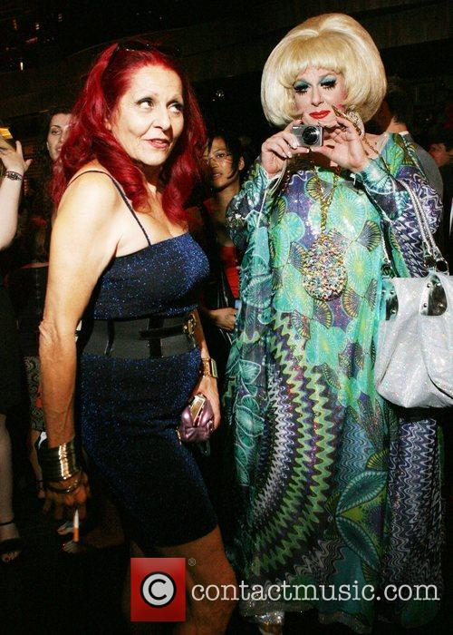 Patricia Fields and Lady Bunny  Mercedes-Benz Fashion...