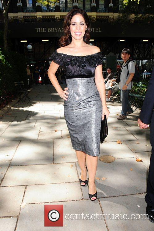 Ana Ortiz Mercedes-Benz Fashion Week Spring 2009 -...