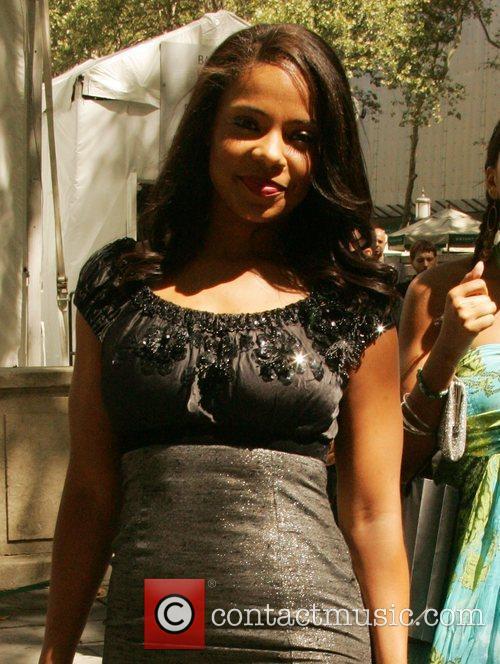 Sanaa Lathan Mercedes-Benz Fashion Week Spring 2009 -...