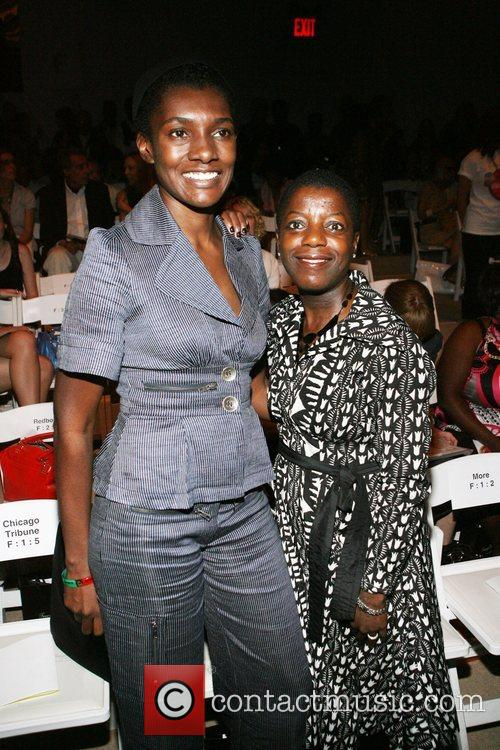 Constance White and Thelma Golden Mercedes-Benz Fashion Week...