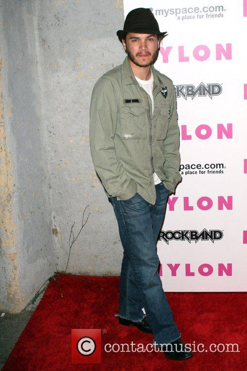 Emile Hirsch Nylon Magazine and MySpace's party to...