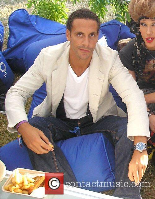 Rio Ferdinand and Jodie Harsh hang out with...