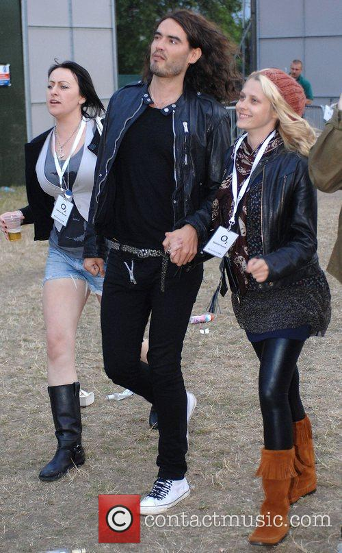 Celebrities at The O2 Wireless Festival 2008 held...
