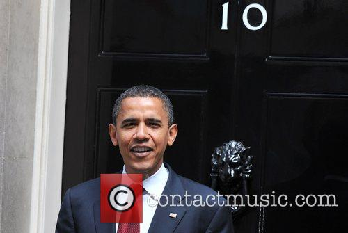 US presidential candidate Barack Obama leaves 10 Downing...