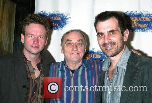 Dallas Roberts, Lanford Wilson and Ty Burrell at...