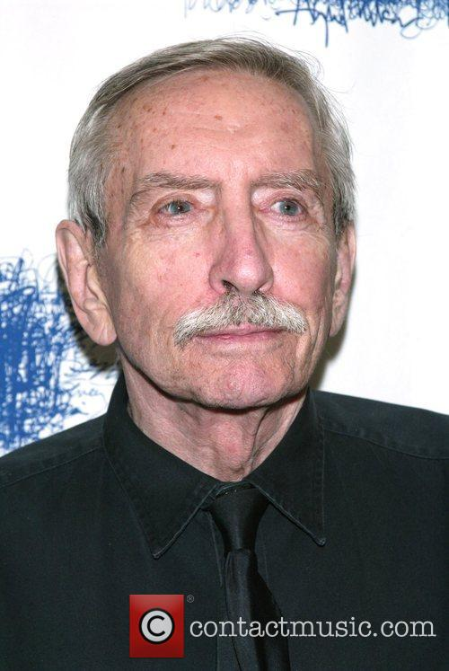 Edward Albee at the after party for his...