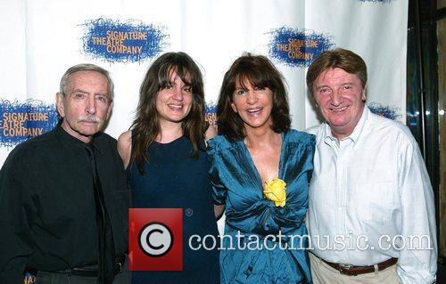 Edward Albee, Pam MacKinnon, Mercedes Ruehl and Larry Bryggman 1